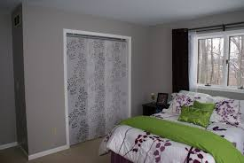 Used Closet Doors Ikea Panel Curtains As Closet Doors Could Be Used To Cover A