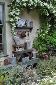 How To Decorate A Patio 83 Best Shabby Outdoor Decor Images On Pinterest Garden Potting