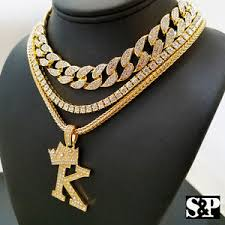 necklace diamond ebay images Hip hop quavo choker 16 quot full iced cuban 1 row diamond chain jpg
