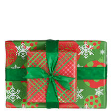 reversible christmas wrapping paper green plaid ornaments reversible wrapping paper mixed bag