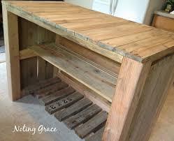 pallet kitchen island diy kitchen island made of pallets curbly