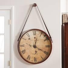 clocks hito clock large wood wall clock wall clocks amazon