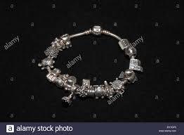 black pandora charm bracelet images Pandora charms stock photos pandora charms stock images alamy jpg