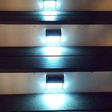 solar stair lights indoor cool led step lighting click to enlarge image theater led step