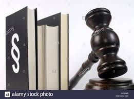 sections in law law legislation code civil code judge s hammer section stock