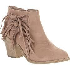 womens boots walmart canada faded s fringe heel boot walmart com