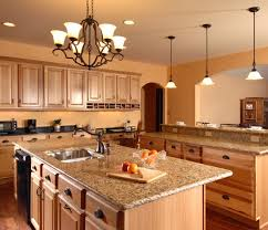 oak kitchen island with granite top oak cabinets with granite countertops marble kitchen