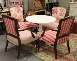 French Country Table by Found In Ithaca French Country Upholstered Chairs And Round