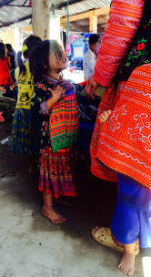Hmong Map Cultural Costume At Pa Co Hmong Market Moc Chau Haute Culture
