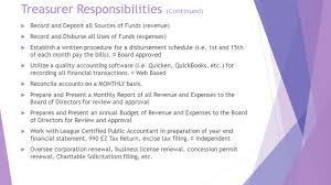Treasurer Job Description Sample Little League Treasurer A Guide To Successful Financial Management