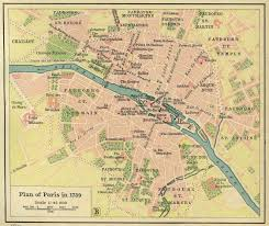 Map Of Paris France by Contemporary And Historical Maps Of Paris France Map Of