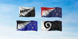 Nee Zealand Flag New Zealand Unveils Four Alternative Flag Designs For Referendum