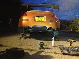 nissan 350z rear diffuser rear diffuser styling 350z u0026 370z uk