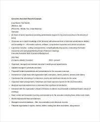Resume Examples For Executive Assistant by Professional Executive Resume Template 34 Word Pdf Documents