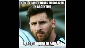 Memes De Lionel Messi - los memes de la exhibici祿n de lionel messi ante panam磧