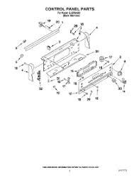 Whirlpool Ceran Cooktop Parts For Whirlpool Gjsp84902 Range Appliancepartspros Com