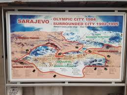 si e de sarajevo delle olimpiadi di sarajevo non sono rimaste che le rovine vice