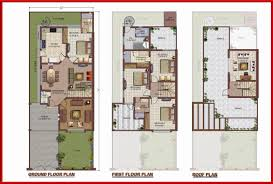 Architectural Design Of 1 Kanal House Zaamin Fazaia Villas