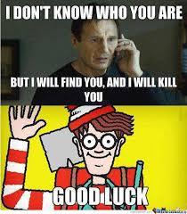 Good Luck Memes - good luck finding waldo by xmemegirlx meme center
