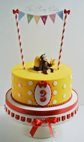 curious george cake topper curious george party picmia
