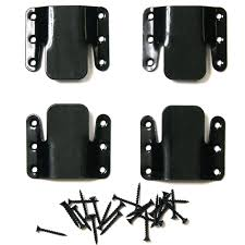 Sectional Sofa Connecting Brackets Choice Parts Black Sectional Connector Pack Of 2