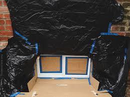 vinyl basement window painted door sixteen