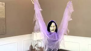 gemmy floating donna the dead halloween prop youtube