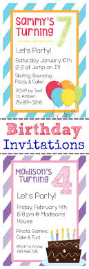 birthday party invitations for kids free invitations ideas 25 unique free printable birthday invitations ideas on