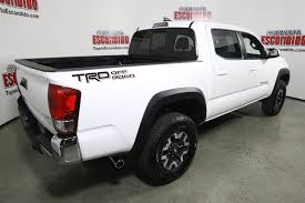 new 2017 toyota tacoma trd off road double cab pickup in escondido