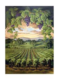 themed paintings painted wine themed mural painting for wine cellar