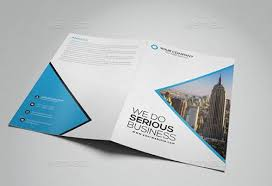 two fold brochure template psd 40 best psd brochure templates