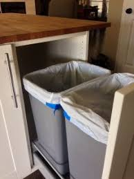 Kitchen Cabinet Trash Can Pull Out 25 Best Trash Can Pull Out Images On Pinterest Kitchen Kitchen