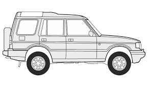 range rover drawing how to draw a land rover discovery 5 как нарисовать land rover