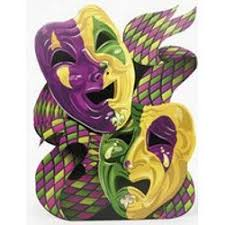 mardi gras masks and ft x 45in cardboard mardi gras mask stand up