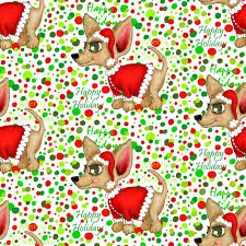 chihuahua or merry chi fabric g spoonflower