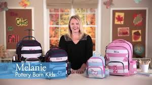 Pottery Barn Mackenzie Backpack Back To With Pottery Barn Kids U0027 Fairfax Collection Youtube