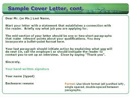 should cover letters be double spaced cover letter sample for job