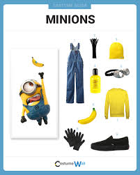 dress like the minions costume halloween and cosplay guides