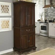 real wood kitchen pantry cabinet solid wood pantry cabinets for sale in stock ebay
