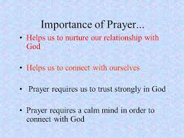 prayer according to the oxford dictionary of current