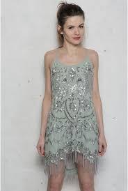 pale green flapper dress 1920s beaded dresses