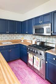 Cobalt Blue Kitchen Cabinets Houzz Small Kitchens Cobalt Blue Kitchen Decor Blue And White