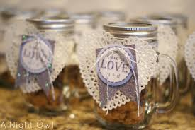 smores wedding favors great gifts s more in a jar a owl