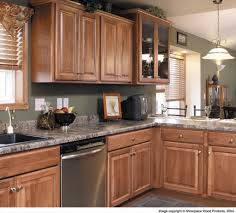 Kitchen Cabinets With White Appliances by Hickory Kitchen Cabinets Lowes Denver For Craigslist With Granite