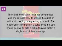 what is a query letter youtube