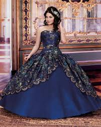 royal blue and gold quinceanera dresses dress images