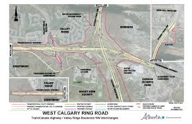 Trans Canada Highway Map by Government Of Alberta Ministry Of Transportation West Calgary