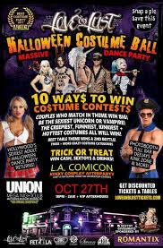halloween city returns love u0026 lust halloween costume ball u2013 tickets u2013 union nightclub