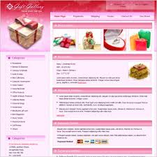 gift gallery template free website templates in css html js