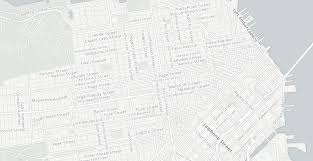 San Francisco Street Map by See San Francisco Reimagined As A Startup Map